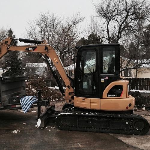 The Excavator for Examining Slab and Underground Leaks