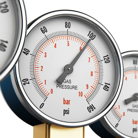 gas line pressure testing